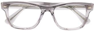 Oliver Peoples Square Transparent-Frame Glasses