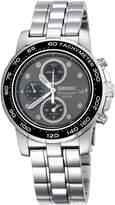 Seiko Men's SNAA63 Alarm Chronograph -Tone Dial Watch