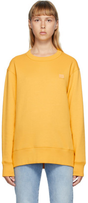 Acne Studios Yellow Fairview Sweatshirt
