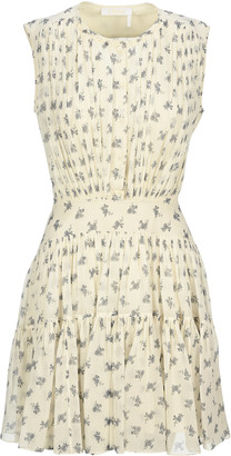 Chloé Floral Print Mini Dress