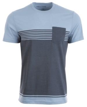 Sun + Stone Men's Chest Stripe Pocket T-Shirt, Created for Macy's