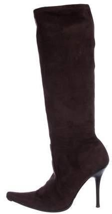 d1d95433c Casadei Pointed Toe Women's Boots - ShopStyle