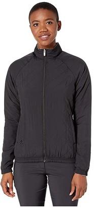adidas Reversible Quilted Jacket (Black) Women's Coat