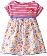 Jo-Jo JoJo Maman Bebe Floral T Shirt Dress (Baby) - Bright-18-24 Months