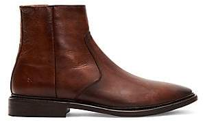 Frye Men's Paul Side-Zip Leather Boots