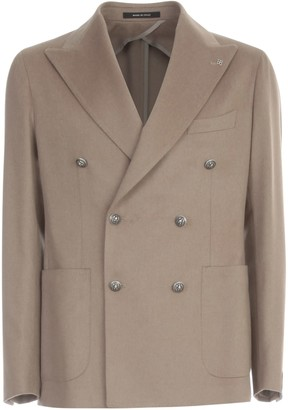 Tagliatore Wool Double Breasted Jacket