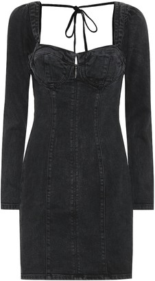 GRLFRND Amina denim minidress