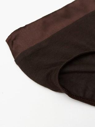 Hanro Annik Modal-blend Jersey Briefs - Charcoal