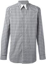 Givenchy plaid print shirt - men - Cotton - 40