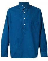 Levi's polka dot denim shirt