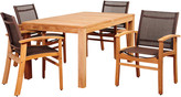 International Home Miami Amazonia Teak Outdoor Set