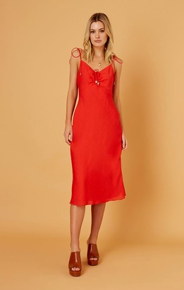 Finders Keepers SHORES DRESS chilli