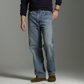 Relaxed-fit jean in light worn wash