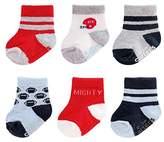 Carter's Baby Boys' 6 Pack Computer Socks Stripes