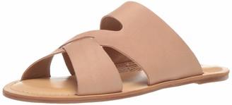 Lucky Brand Women's LEELAN Flat Slide Sandal