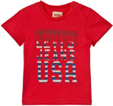 Levi's Red USA Logo Print Tee