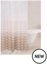 Sabichi Stone Stripe Shower Curtain
