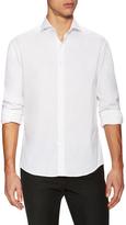 Michael Bastian Poplin Solid Spread Collar Sportshirt