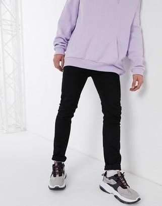 Religion Noize slim fit jeans in black