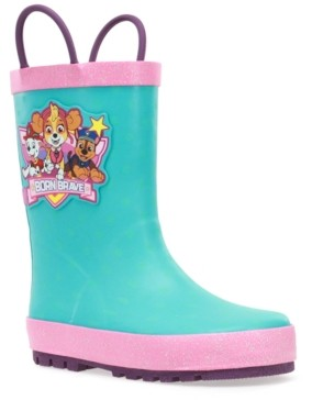 Western Chief Toddler Girls Paw Patrol Born Brave Rain Boot