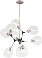 George Kovacs By Minka Nexpo 9 - Light Sputnik Modern Linear Chandelier by Minka