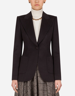 Dolce & Gabbana Single-Breasted Cashmere Jacket
