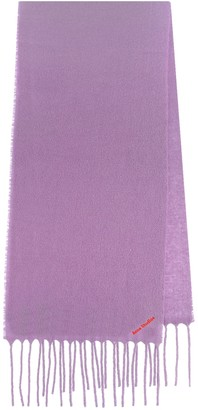 Acne Studios Villy wool-blend scarf