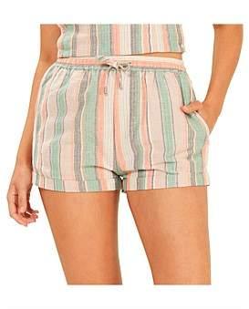 MinkPink Intrepid Stripe Shorts