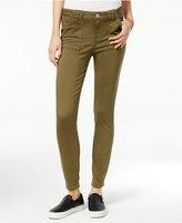 Vanilla Star Juniors' Porkchop Pocket Colored Skinny Jeans