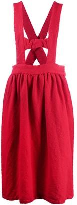 COMME DES GARÇONS GIRL Brace-Detail Flared Skirt
