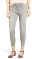 Women's Caslon Stretch Release Hem Ankle Skinny Jeans