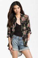 Line & Dot Oversized Vintage Floral Shirt
