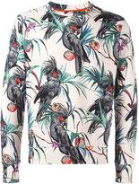 Paul Smith printed long sleeve sweatshirt - men - Cotton - XS