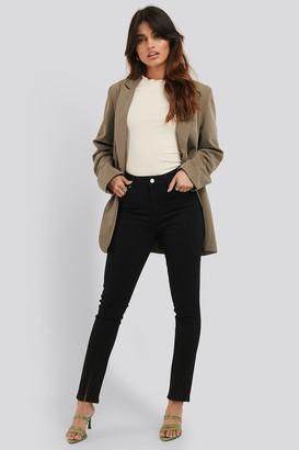 NA-KD Front Slit Detail Skinny Jeans