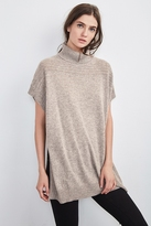 Quinny Cashmere Poncho Sweater