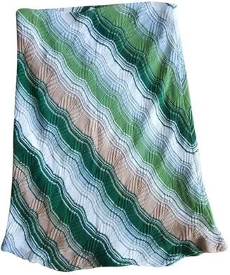 Missoni Green Cotton Skirt for Women Vintage