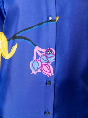La DoubleJ Printed Shirt Dress
