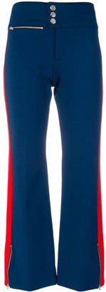 Gucci Side Stripe Flared Trousers