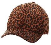 Charlotte Russe Leopard Print Baseball Hat
