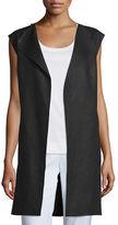 Lafayette 148 New York Celeste Linen Vest
