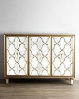 John-Richard Collection Arabesque Mirrored Console