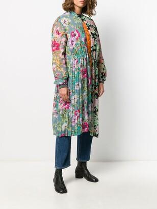 Junya Watanabe Floral Print Coat