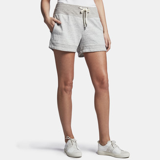 James Perse Cotton Patched Sweat Short