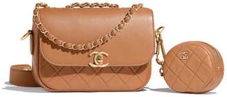 Chanel Flap Bag & Coin Purse