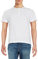 Kenneth Cole New York Cotton Henley Tee