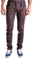 Daniele Alessandrini Men's Yellow Cotton Jeans.