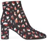 Saint Laurent LouLou 95 zipped ankle boots