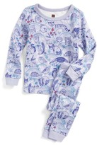 Tea Collection Toddler Girl's Frith Fitted Two-Piece Pajamas
