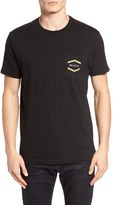 RVCA Men's Double Hex Pocket T-Shirt