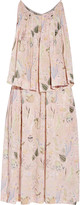 Jill Stuart Dasha printed chiffon dress